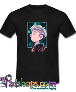 12th Doctor and Stars T shirt SL