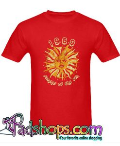1969 Summer Of The Sun T-Shirt