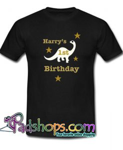 1st Birthday T Shirt SL