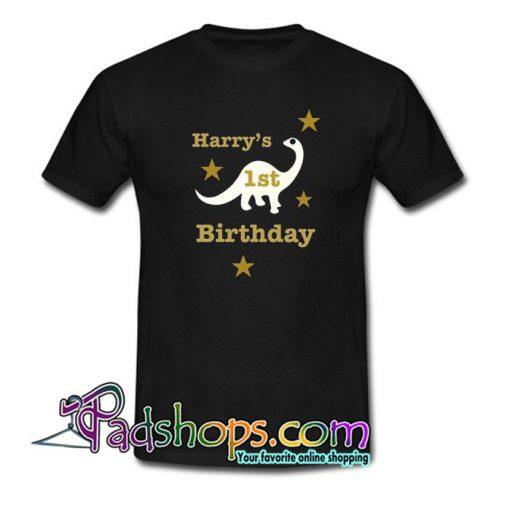 1st Birthday T Shirt SL