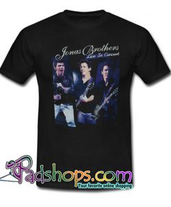 2010 Jonas Brothers Tour T Shirt SL