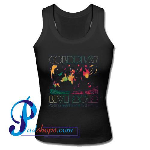 2012 Australian Tour Coldplay Concert Tank Top