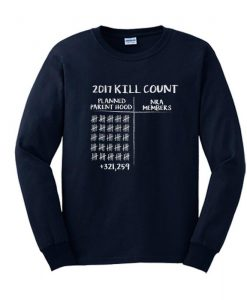 2017 Kill Count Sweatshirt SL