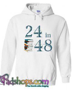 24in48 Readathon Hoodie SL