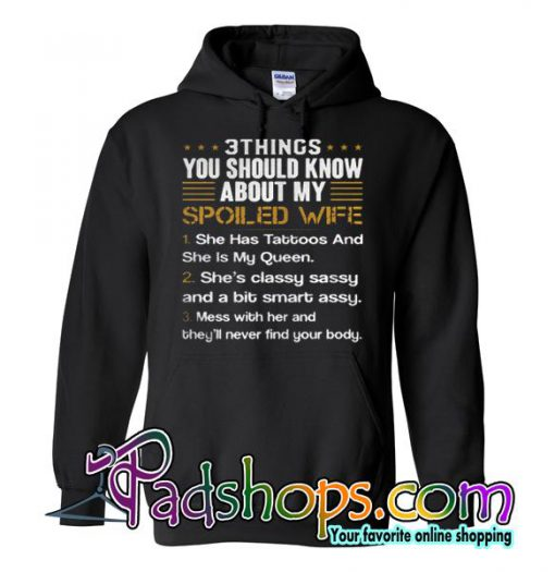 3 Things You Should Know Hoodie