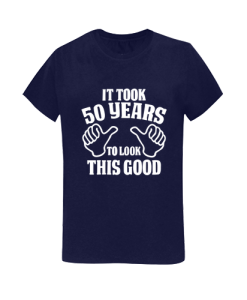 50th Birthday Gift women T Shirt