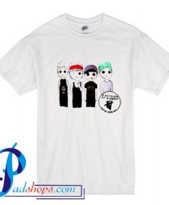 5SOS 5 Seconds of Summer Drawing T Shirt