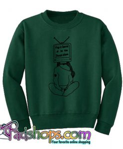 5 seconds of summer Concert Tv Head  Sweatshirt SL
