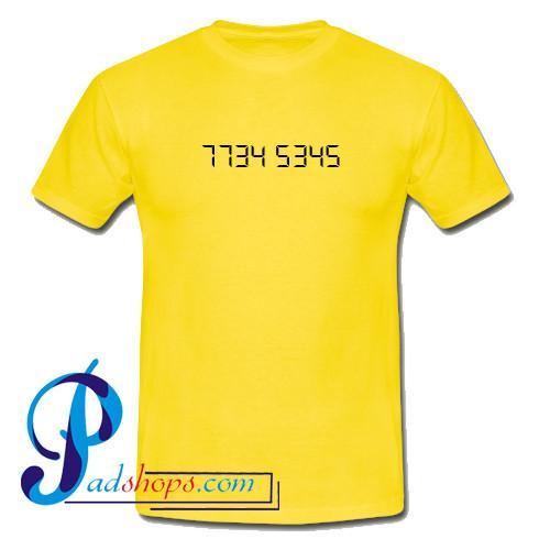 7734 5345 T Shirt