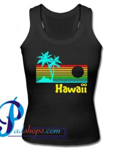 80s Retro Vintage Hawaii Tank Top