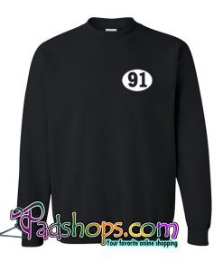 91 Number Sweatshirt