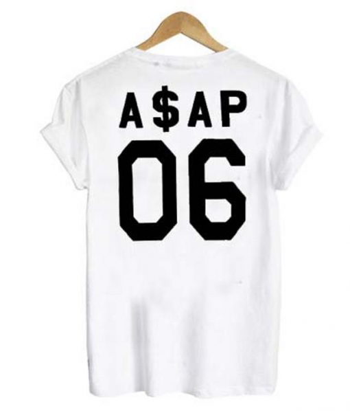 ASAP 06 back t-shirt