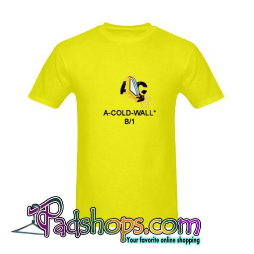 A Cold Wall Gold Yellow T-Shirt