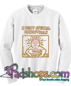 A&M Records A Very Special Christmas sweatshirt