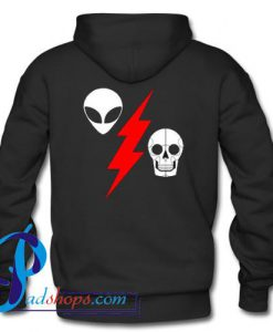 Alien Flash Skeleton Hoodie Back