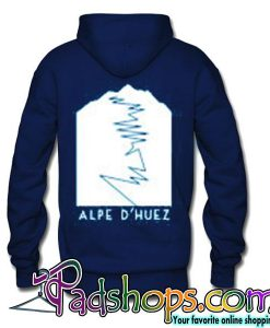 Alpe D'Huez Mens Unisex Cotton T-Shirt Retro Tour de France King of the Mountains Road Cycling Clothing hoodie