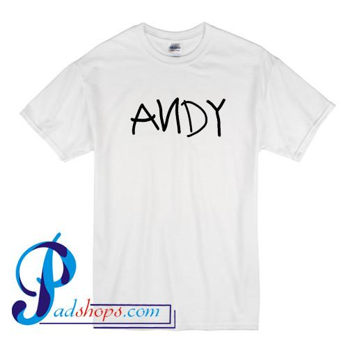 Andy Toy Story T Shirt