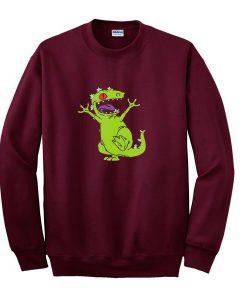 Angry Reptar Sweatshirt