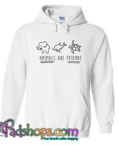 Animals Are Friends Hoodie SL