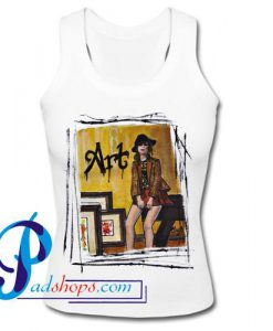 Art Sketch Tank Top