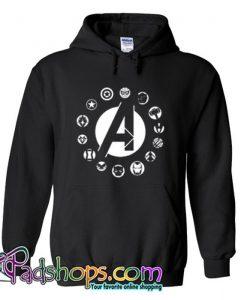 Avengers Team Logo Hoodie SL