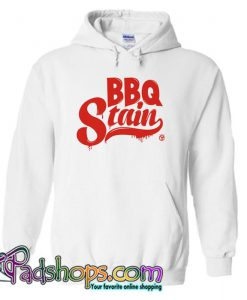 BBQ Stain On A White Hoodie SL