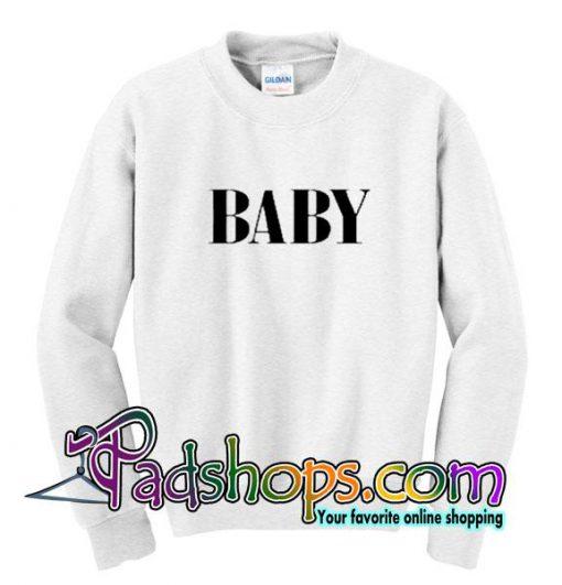 Baby Font Sweatshirt