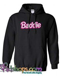 Baddie Logo Hoodie Black SL