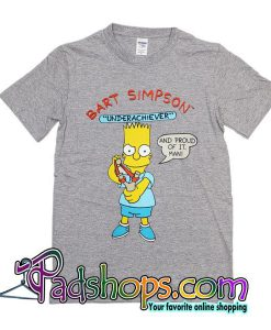 Bart Simpson Underachiever T-Shirt