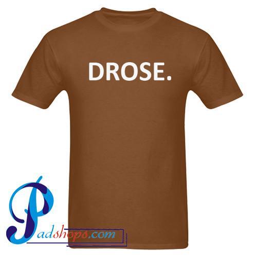 Drose T shirt