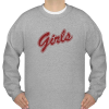 Girls red letters friend tv show Sweatshirt