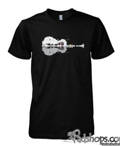 Grateful dead guitar tshirt