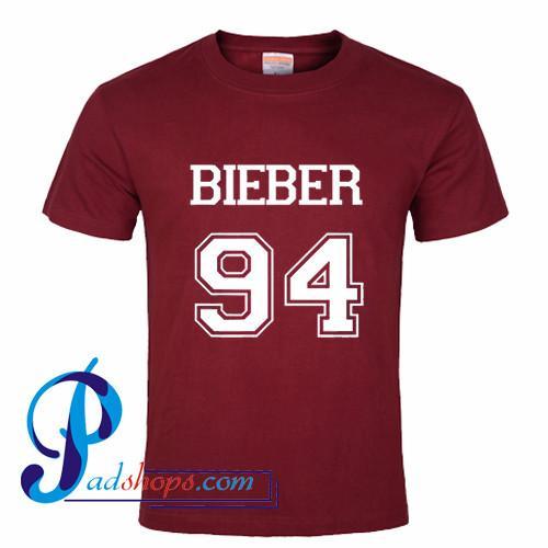 Justin Bieber Bieber 94 Tshirt