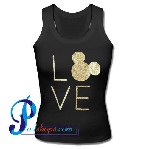 Love Mickey Mouse Tank Top