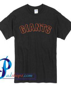 New York Giants Logo T Shirt