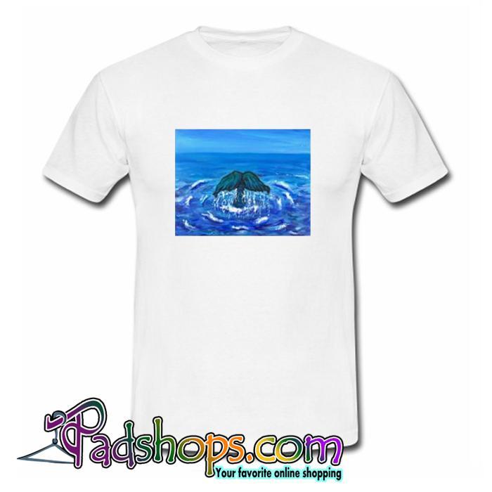 Original Mermaid Art T Shirt (PSM)