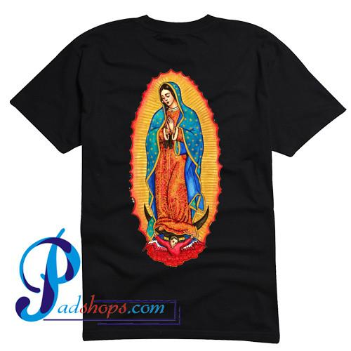 Our Lady of Guadalupe T Shirt Back