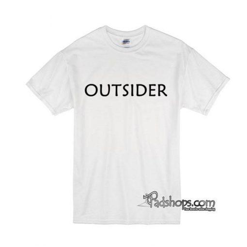 Outsider tshirt