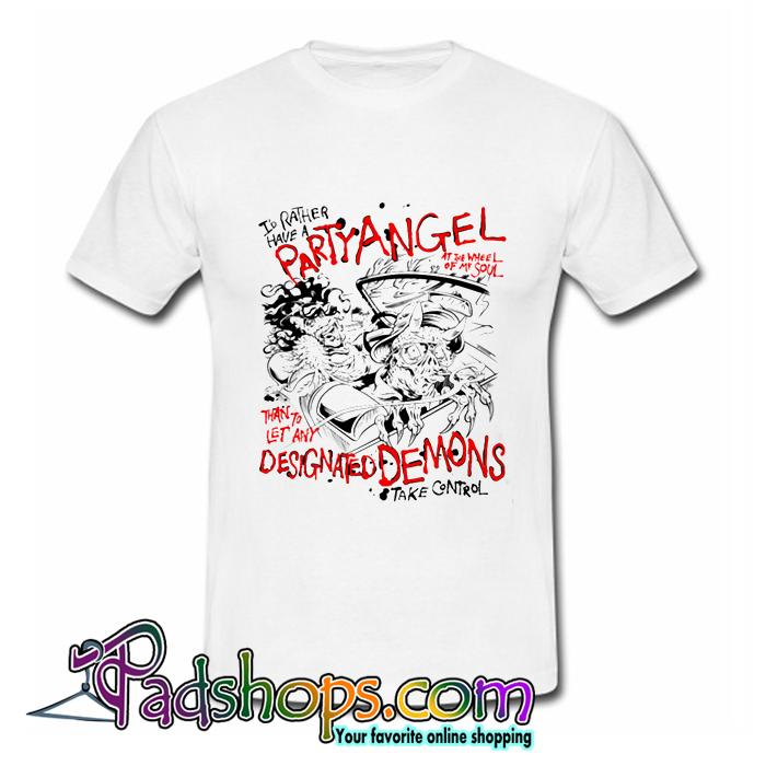 Party Angel T Shirt (PSM)