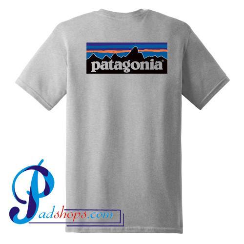 Patagonia Logo T Shirt Back