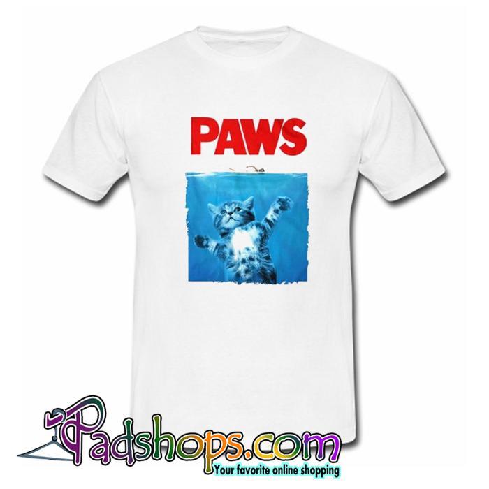 Paws Cat Tshirt SL