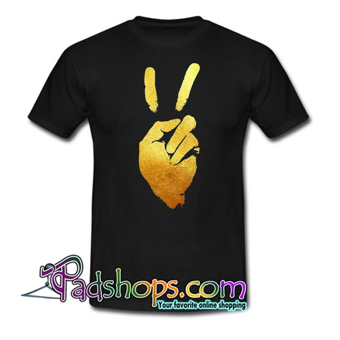 Peace Hand Art T Shirt SL