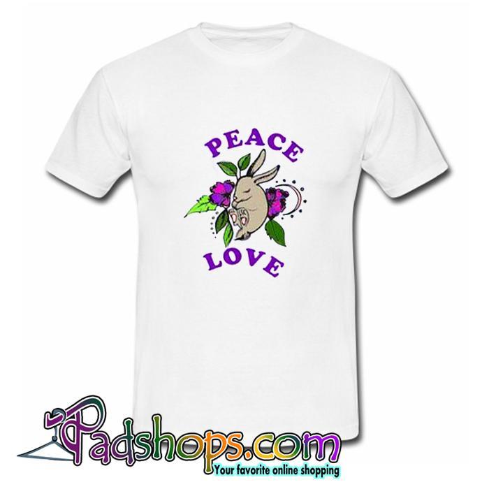 Peace Love T-Shirt (PSM)