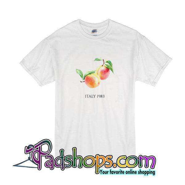 Peach Italy 1983 T-Shirt