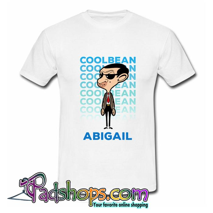Personalised Cool Bean Abigail T-Shirt (PSM)