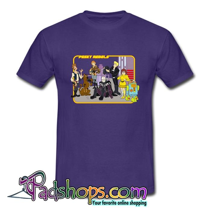 Pesky Rebels Scooby Doo T Shirt (Oztmu)