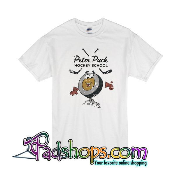 Peter Puck Hocked School T-Shirt