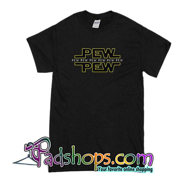Pew Pew Star Wars T-Shirt