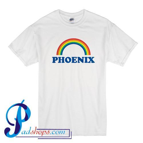 Phoenix Rainbow T Shirt