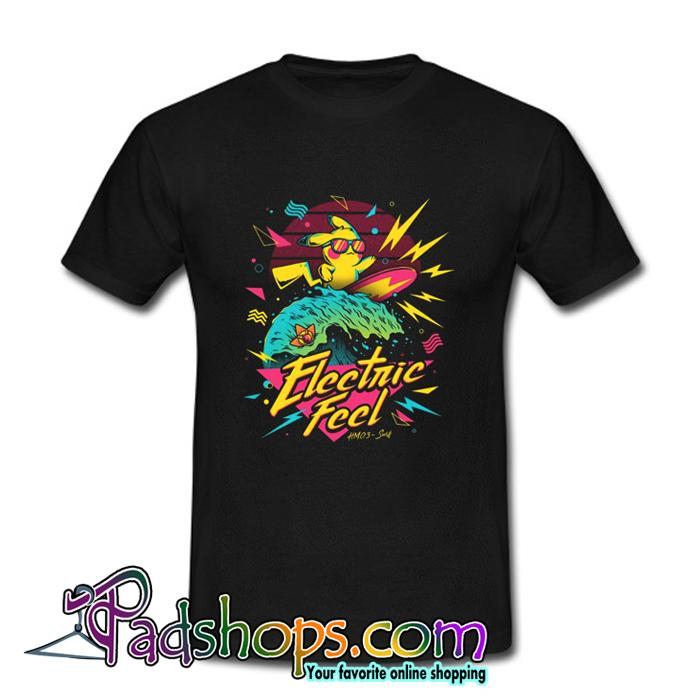 Pikachu Electric Feel T Shirt (PSM)